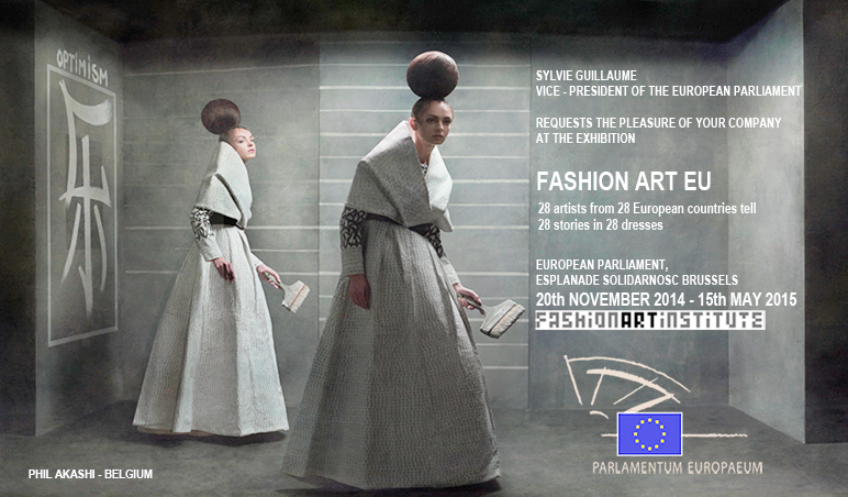 Phil Akashi Exhibition Fashion Art EU Eugenio Recuenco