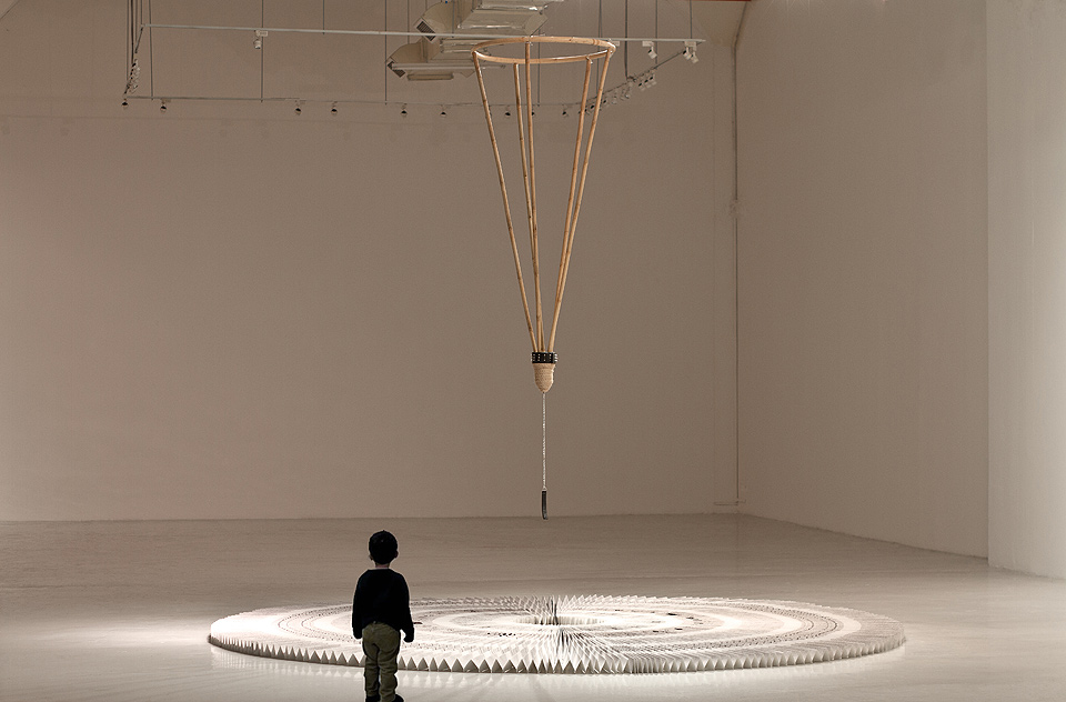 Phil Akashi the Circle of Time Installation
