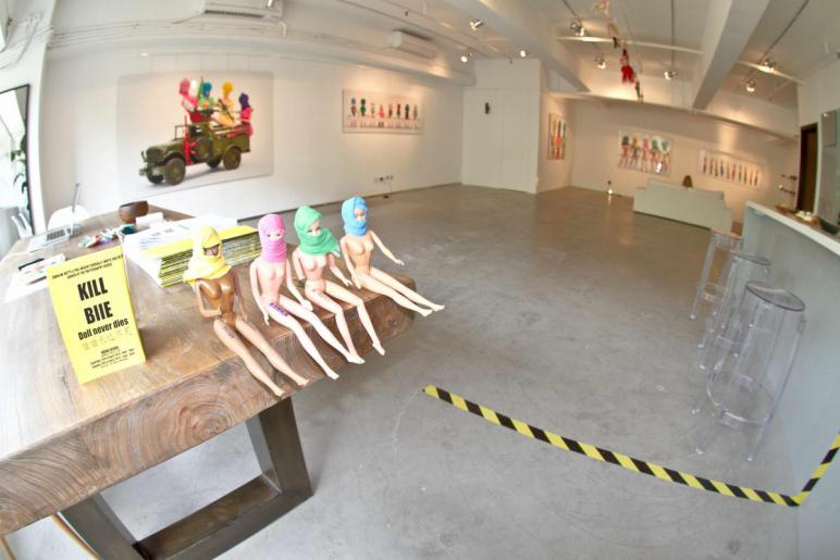 Phil Akashi EXHIBITION in HONG KONG, KILL BIIE DOLL NEVER DIES
