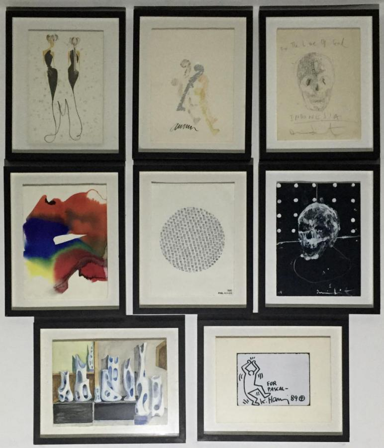 Phil Akashi Damian Hirst Keith Haring Dali Picaso César Arman Morabito Collection