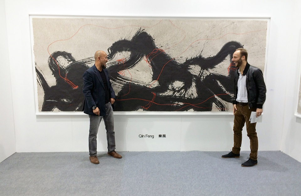 QIN FENG 秦風 and Phil Akashi HK15 Art Central Galerie du Monde