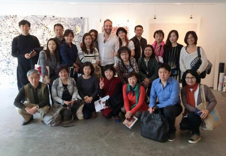 Phil Akashi lecture to the Korean Art Management Institute (KAMI)